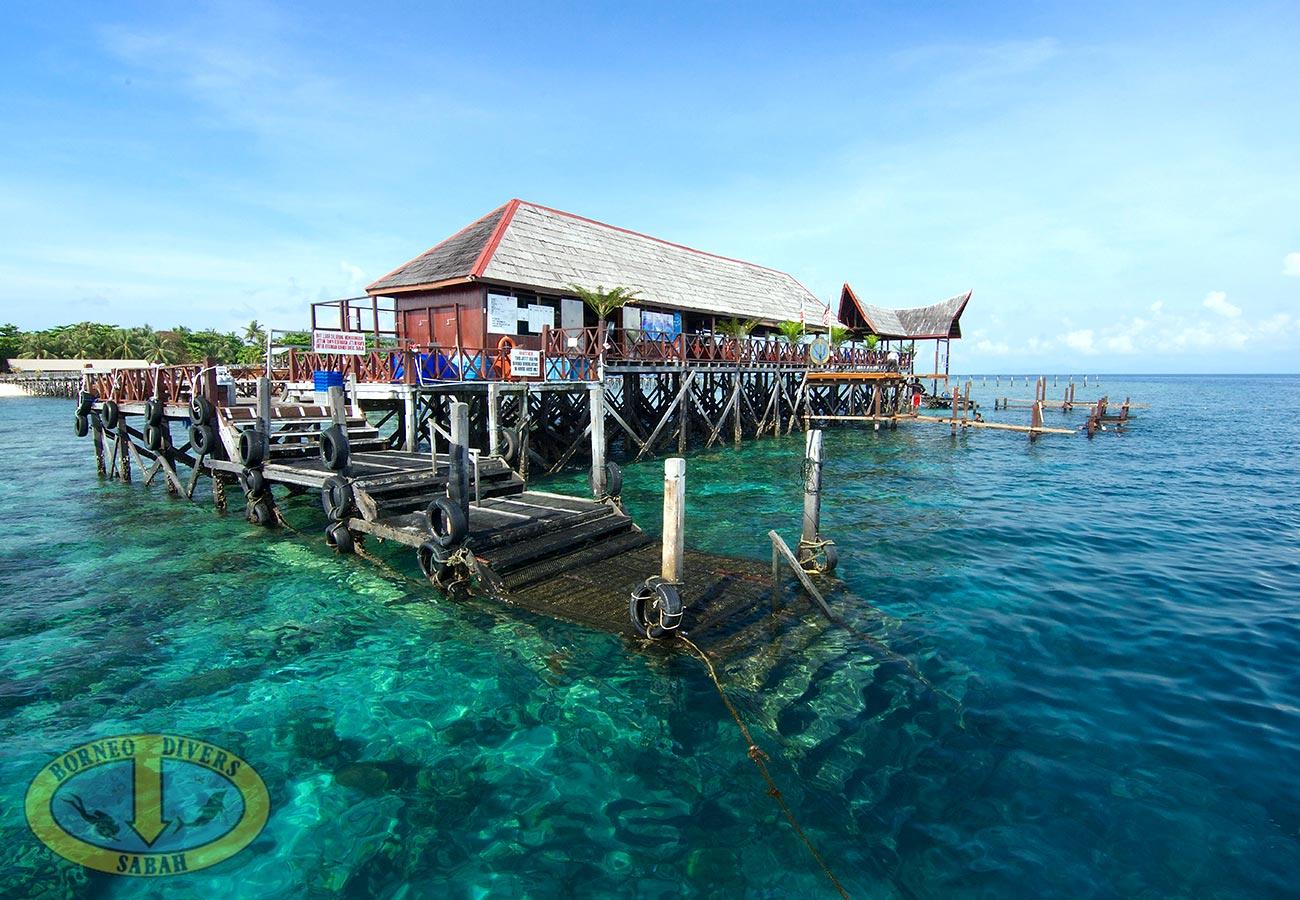 马来西亚 西巴丹sipadan > 西巴丹 borneo 海边小屋5日  说走就走